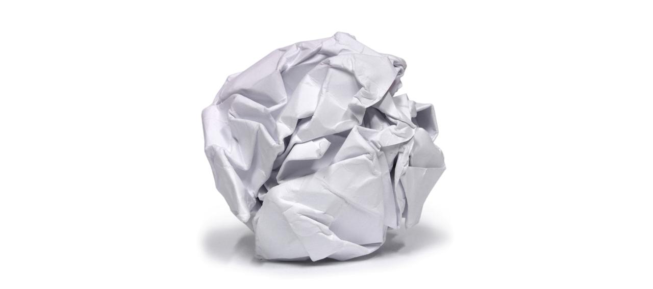 palla di carta